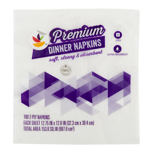 GIANT Premium Dinner Napkins 2-Ply