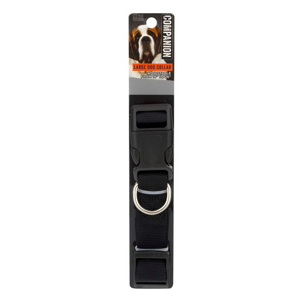 Companion Essentials Dog Collar Adjustable Large