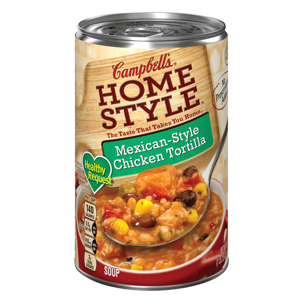 Campbell's Healthy Request Homestyle Mexican Chicken Tortilla Soup
