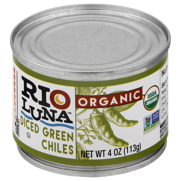 Rio Luna Diced Green Chiles Organic