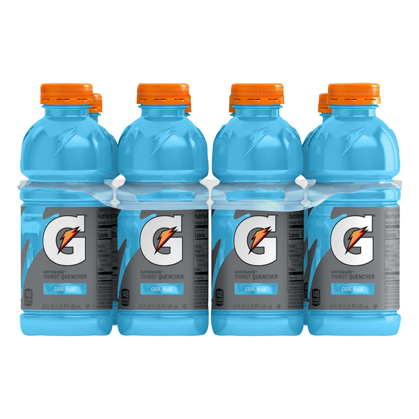 Gatorade G Series Thirst Quencher Sports Drink Cool Blue - 8 pk