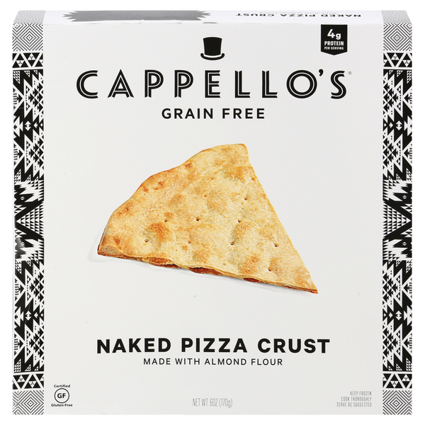 Cappello's Grain Free Naked Pizza Crust