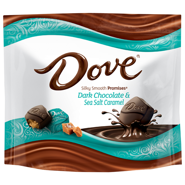 Dove Promises Silky Smooth Dark Chocolate & Sea Salt Caramel Candy