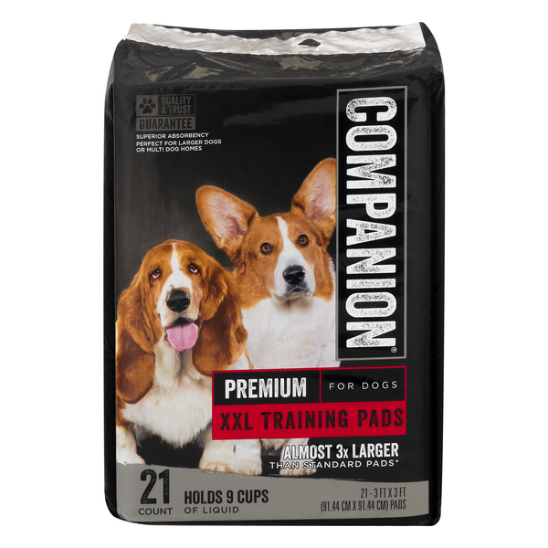 Companion Premium Training Pads for XXL Dogs