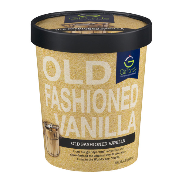 Gifford's Famous Ice Cream Old Fashioned Vanilla