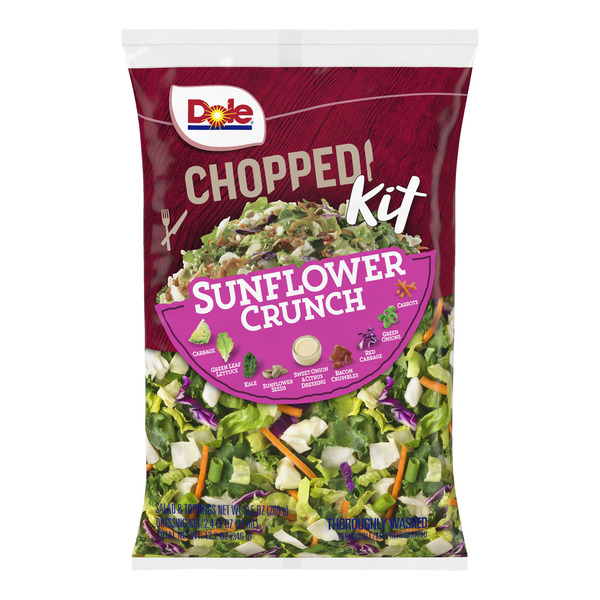 Dole Chopped Salad Kit Sunflower Crunch