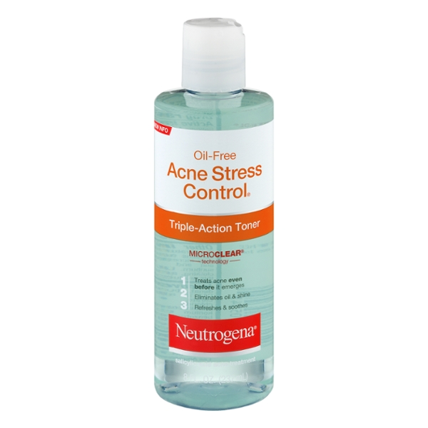 Neutrogena Oil-Free Acne Stress Control Triple Action Toner