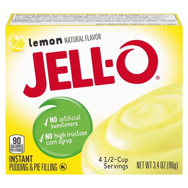 Jell-O Instant Pudding & Pie Filling Lemon