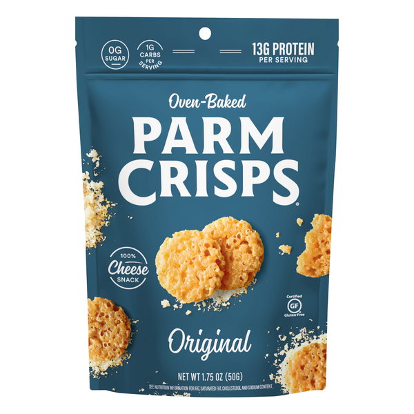 ParmCrisps Oven Baked Cheese Snack Original