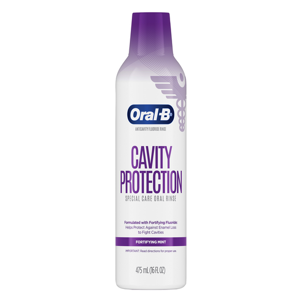 Oral-B Cavity Protection Special Care Oral Rinse Fortifying Mint