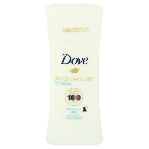 Dove Women's Advanced Care Invisible Anti-Perspirant Sheer Cool Solid