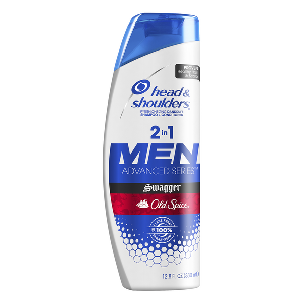 Head & Shoulders 2-in-1 Men's Shampoo + Conditioner Old Spice Swagger