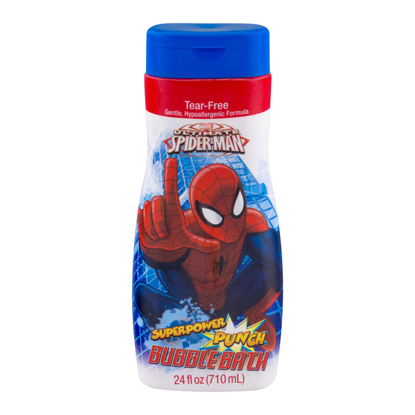 Marvel Ultimate Spider-Man Tear-Free Bubble Bath