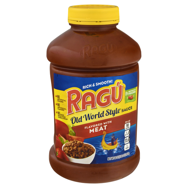 Ragu Old World Style Pasta Sauce with Meat