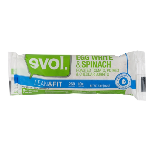 evol. Lean & Fit Burrito Egg White & Spinach