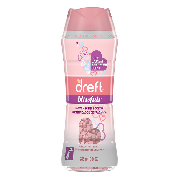 Dreft Blissfuls In-Wash Scent Booster