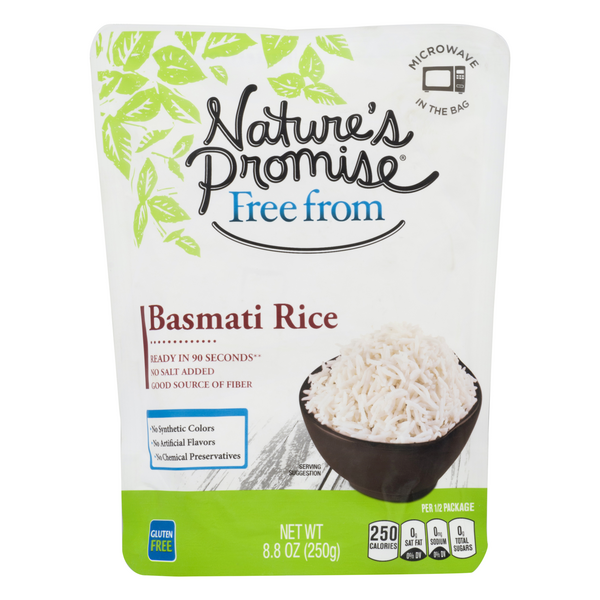 Nature's Promise Free from Basmati Rice Gluten Free