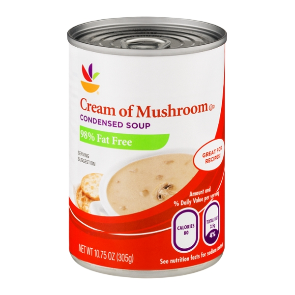 Giant Cream of Mushroom Condensed Soup 98% Fat Free