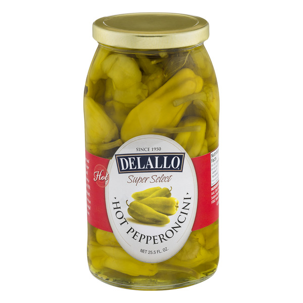 DeLallo Super Select Hot Pepperoncini