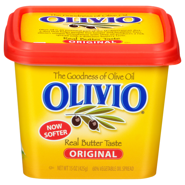 Olivio Vegetable Oil Spread Made with Olive Oil Original