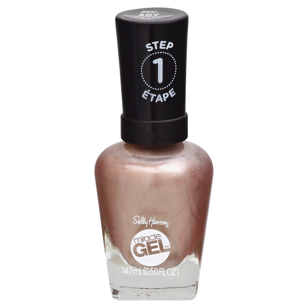 Sally Hansen Step 1 Miracle Gel Nail Polish Out of This Pearl 207
