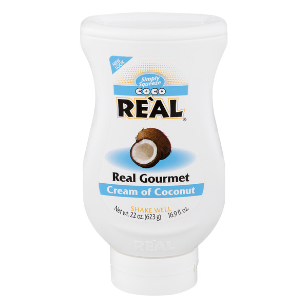 Coco Real Cream of Coconut Simply Squeeze