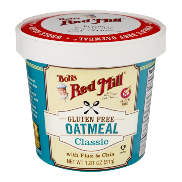 Bob's Red Mill Oatmeal Cup Classic Gluten Free