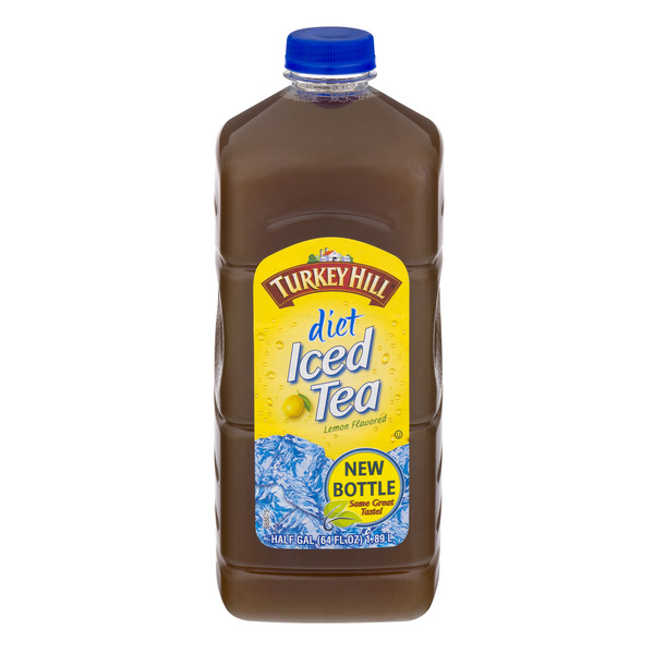 Turkey Hill Lemon Flavored Iced Tea Diet Refrigerated