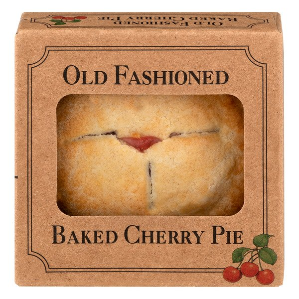 Table Talk Old Fashioned Baked Cherry Pie