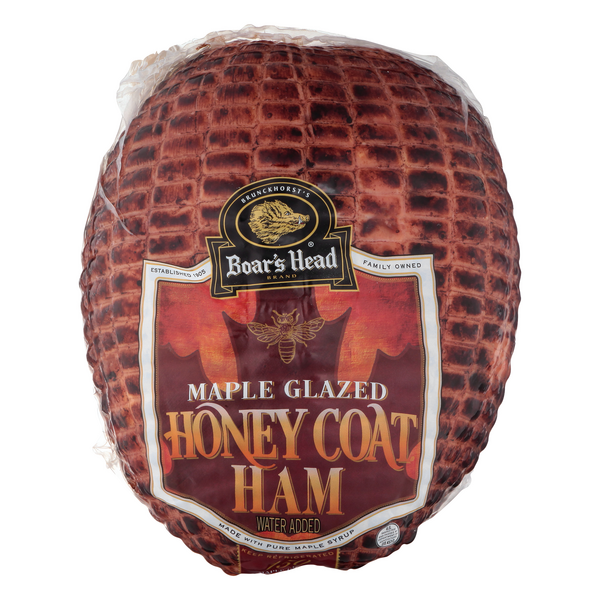 Boar's Head Deli Ham Maple Glazed Honey Coat (Regular Sliced)