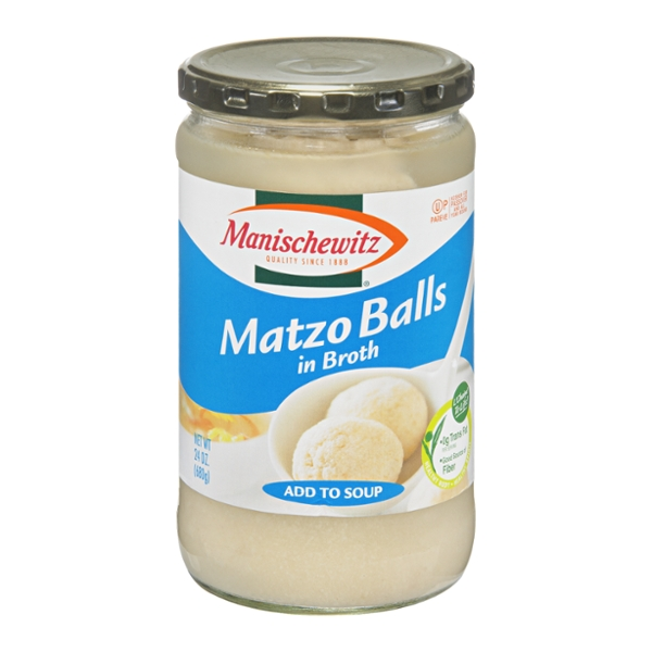 Manischewitz Matzo Balls in Broth (Add Directly to Soup)