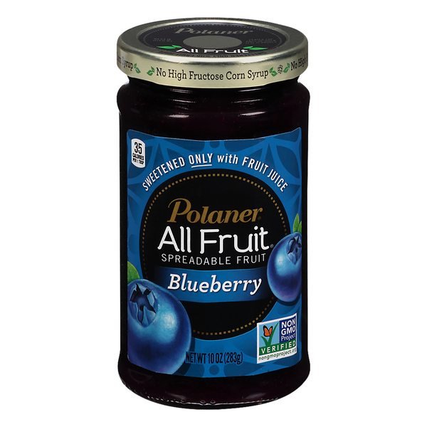 Polaner All Fruit Spreadable Fruit Blueberry