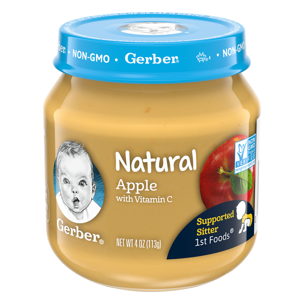Gerber 2nd Baby Food Apple Natural