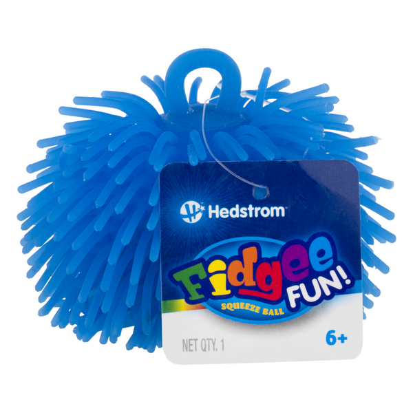 Hedstrom Fidgee Fun! Squeeze Ball Blue