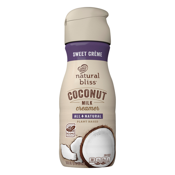 Nestle Coffee-Mate Coconut Milk Creamer Sweet Creme All Natural