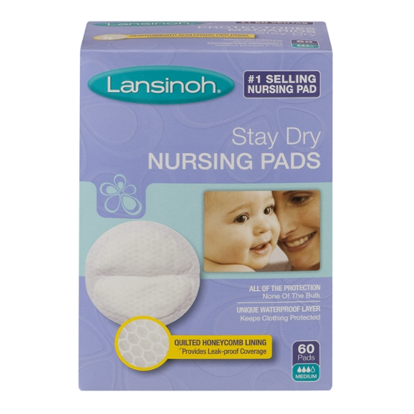 Lansinoh Nursing Pads STay Dry Disposable