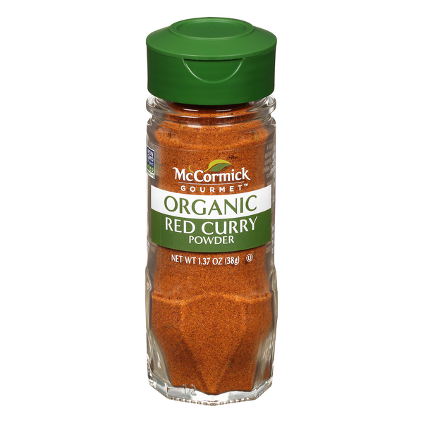 McCormick Gourmet Red Curry Powder Organic
