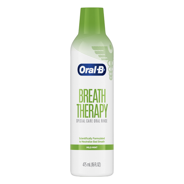 Oral-B Breath Therapy Special Care Oral Rinse Mild Mint