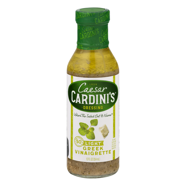 Cardini's Greek Vinaigrette Dressing Light