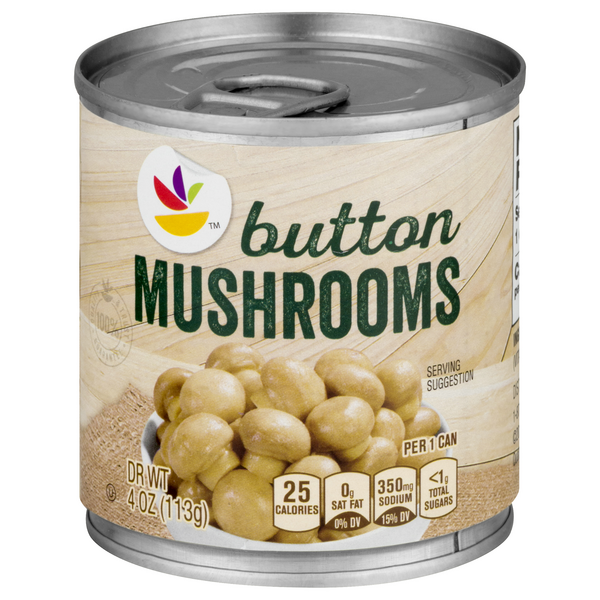GIANT Mushrooms Button Whole