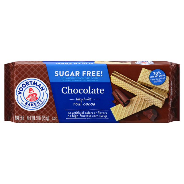 Voortman Wafers Chocolate Sugar Free