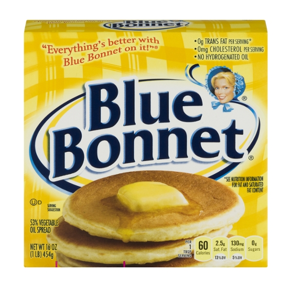 Blue Bonnet Margarine Sticks - 4 ct