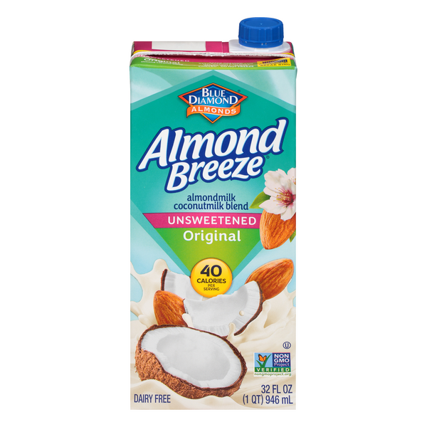Almond Breeze Original Almond Coconut Milk Unsweetened Non-Refrigerated