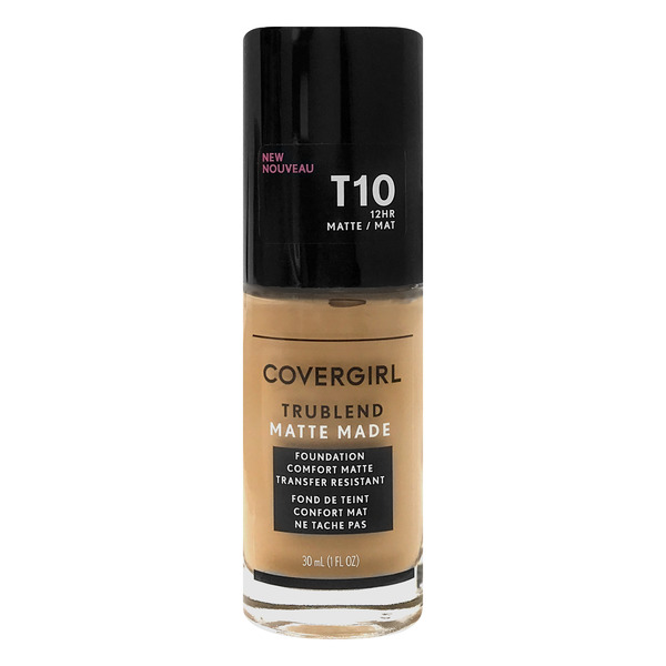 CoverGirl New Trublend Matte Made Foundation Golden Amber T10