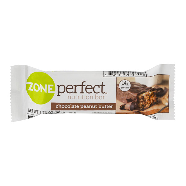 ZonePerfect Nutrition Bar Chocolate Peanut Butter