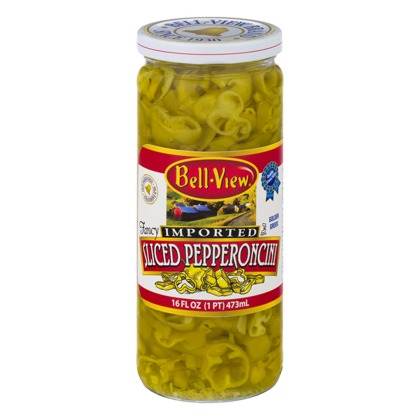 Bell-View Fancy Imported Sliced Pepperoncini