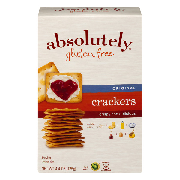 Absolutely Gluten Free Crackers Original
