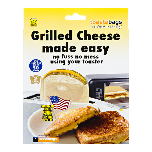 Toastabags Grilled Cheese made easy