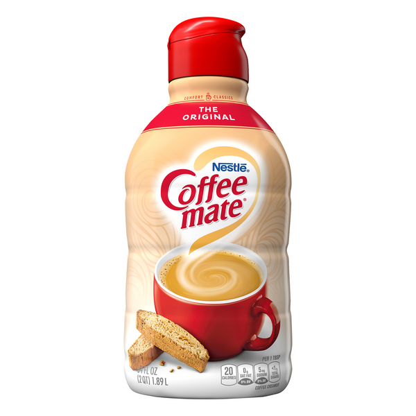 Nestle Coffee-mate Liquid Coffee Creamer Original Refrigerated