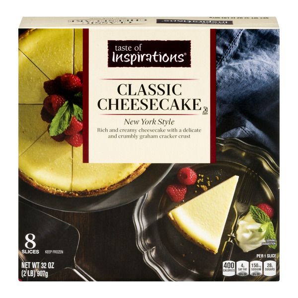 Taste of Inspirations Classic Cheesecake New York Style - 8 slices